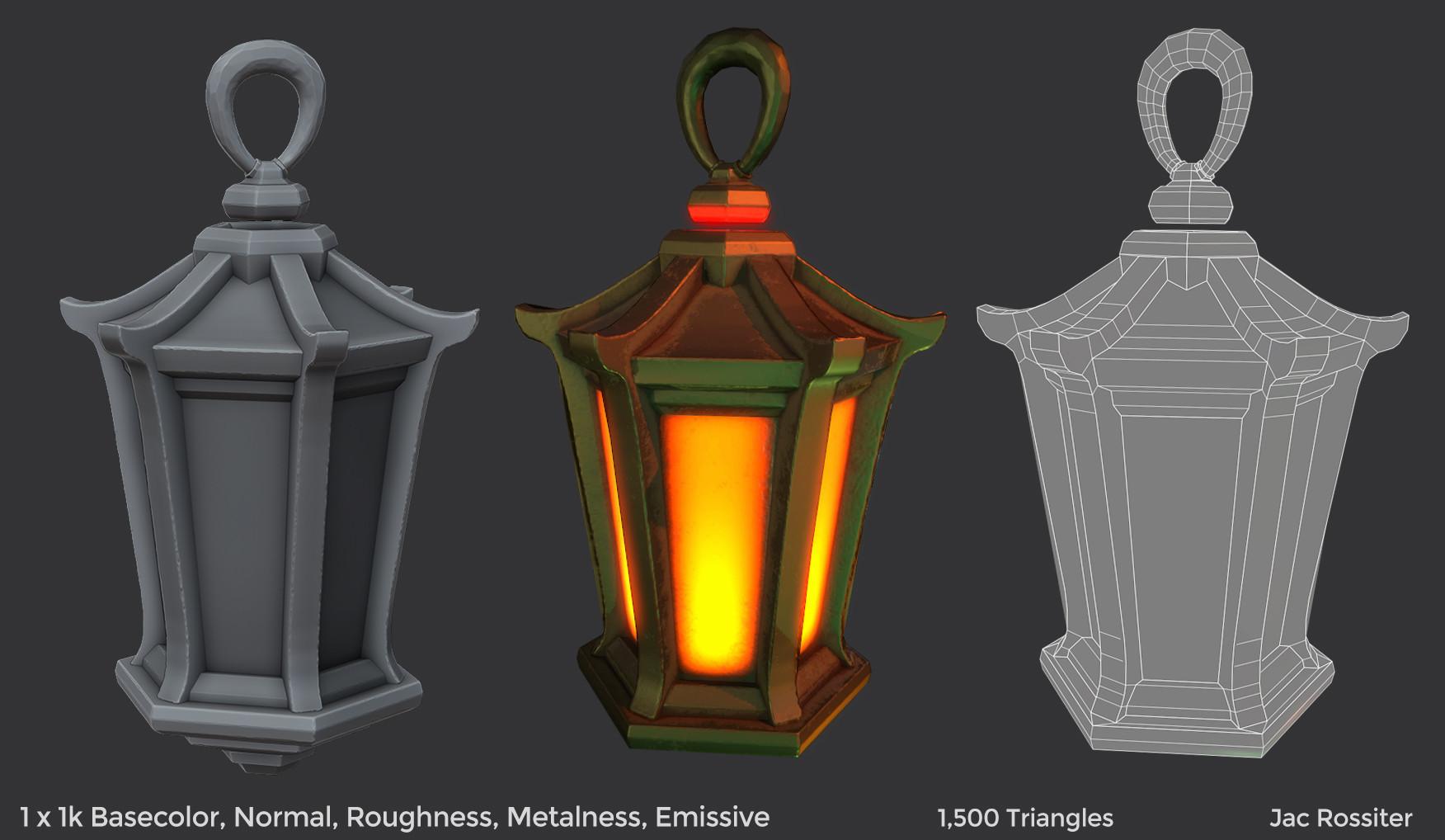 Jac rossiter render lantern