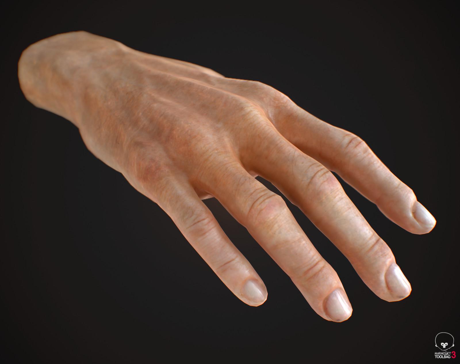 VR HAND - RUNES THE FORGOTTEN PATH