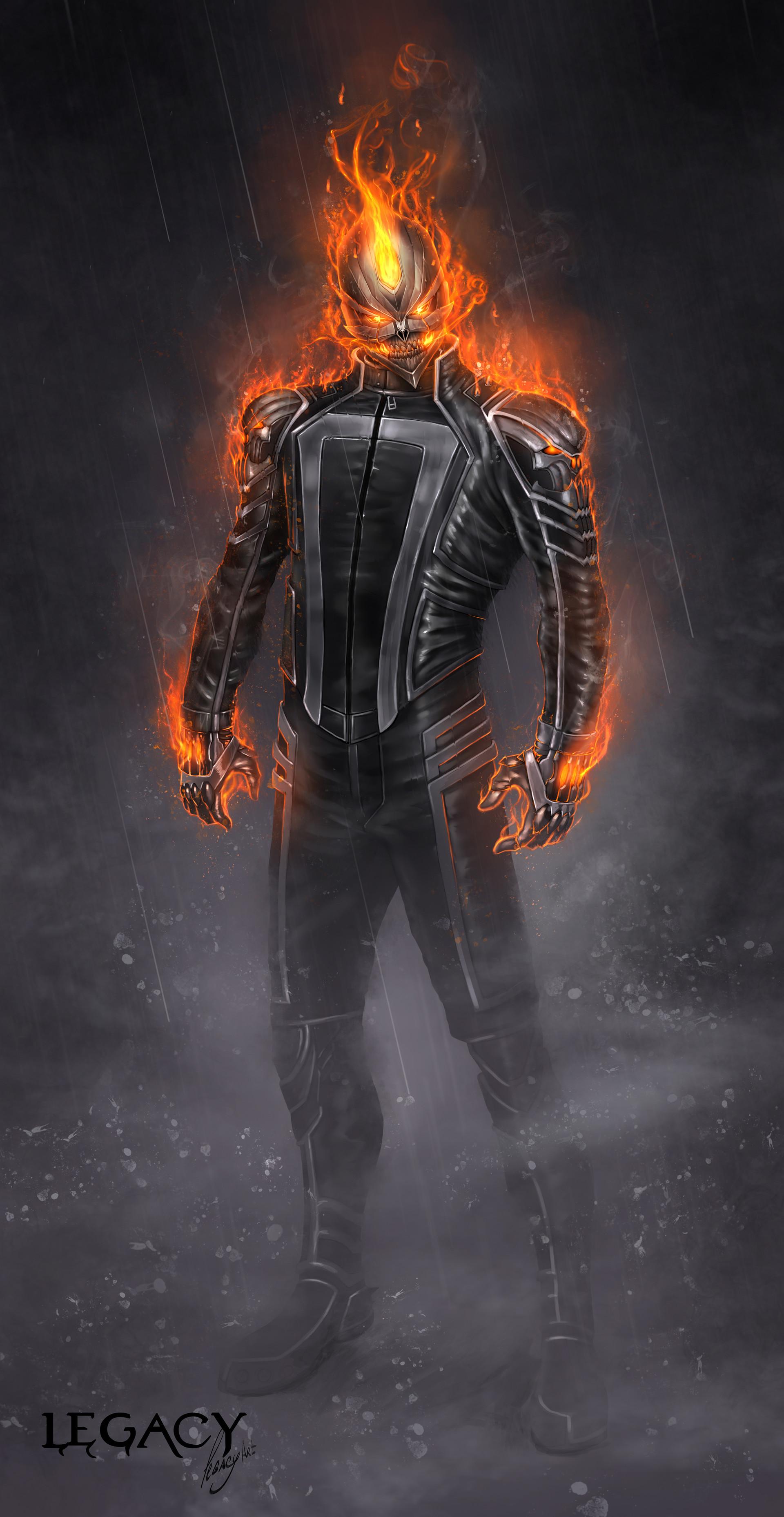 Artstation Ghost Rider Robbie Reyes Legacy Artplay
