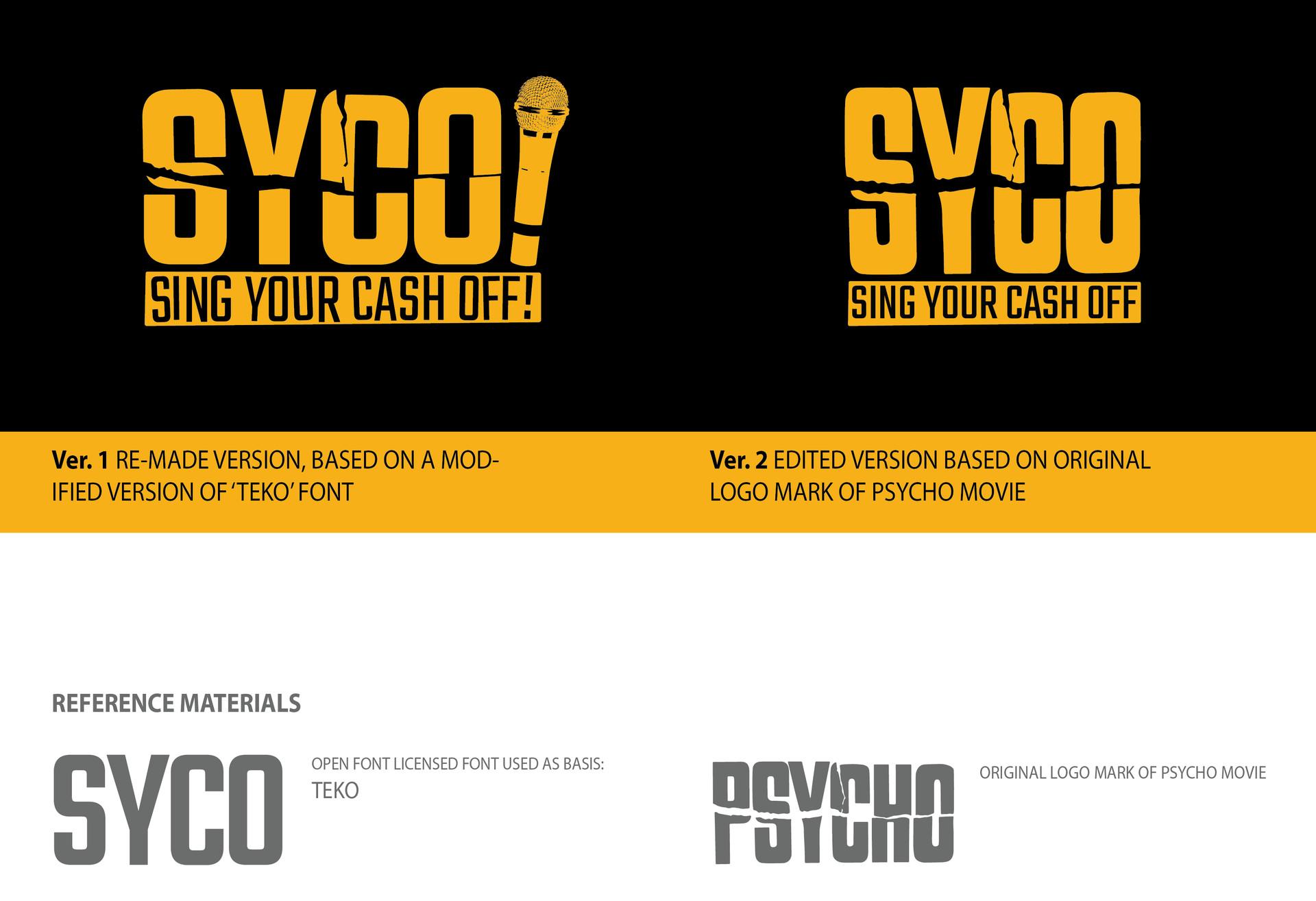 ArtStation - 'SYCO' Logo Mark, Curtis Bathurst