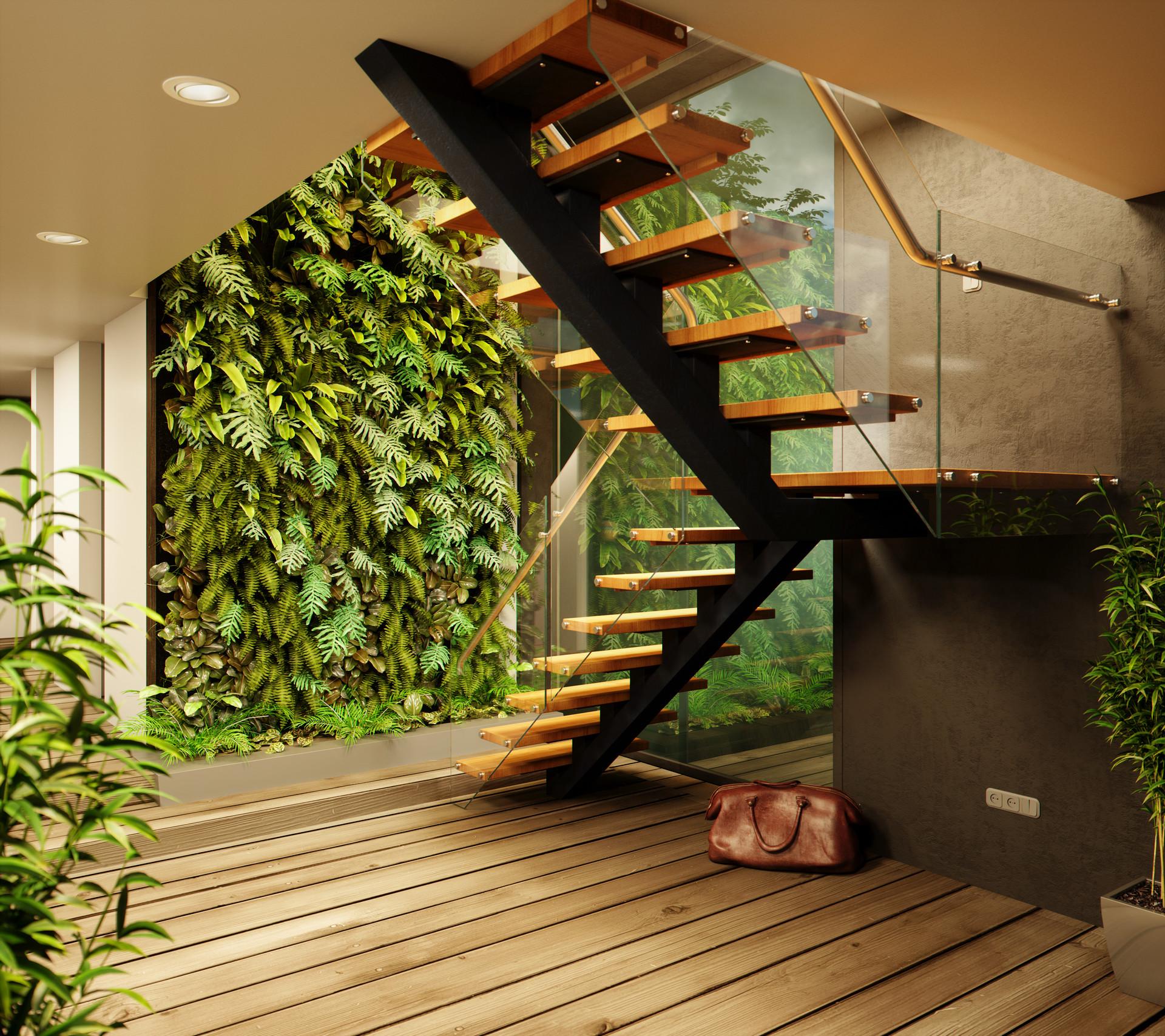 Kartik reddy cam3 stairs wooden