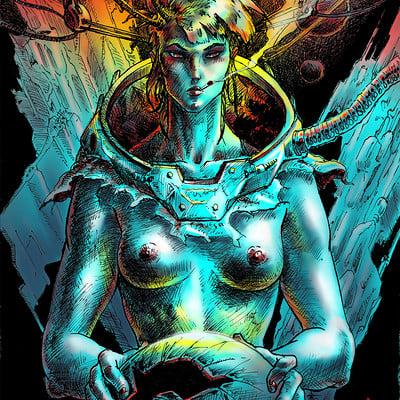 Atom cyber broken dream color 2