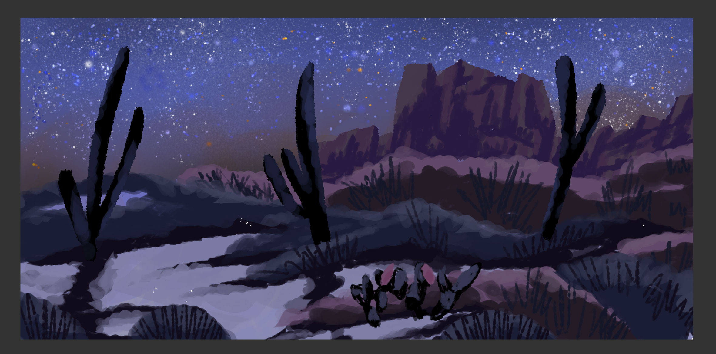Desert - Night