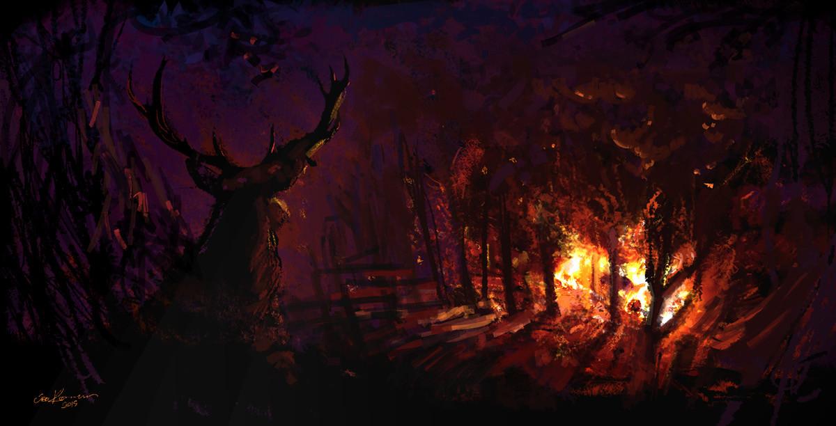 Sebastian komorowski digital painting7