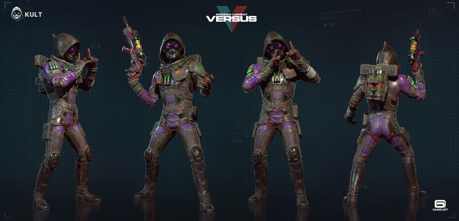 Rodrigue Pralier Kult Modern Combat Versus Gameloft
