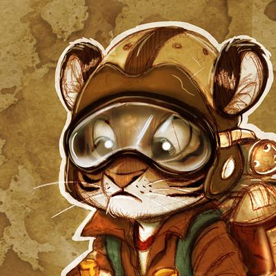 Vipin jacob tiger cub jetpack