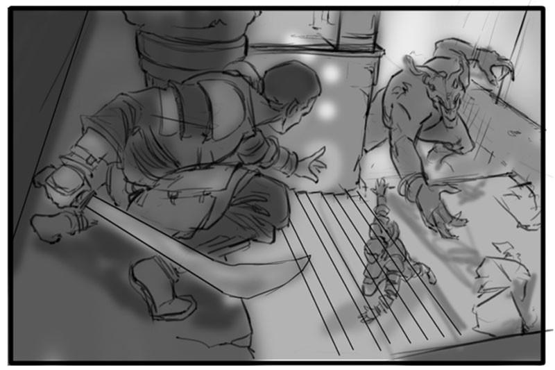 Revels in Trickery - Sketch01