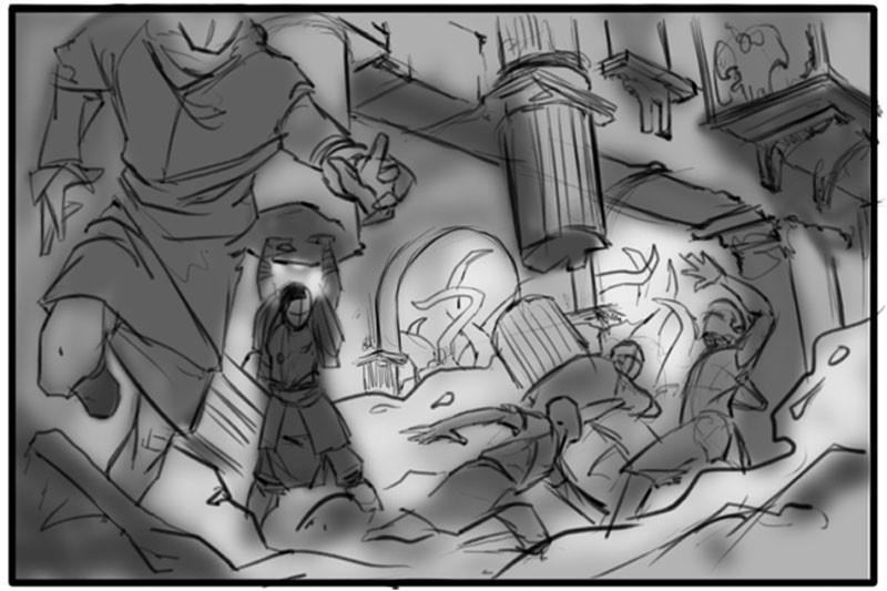 Divine Labor - Sketch02