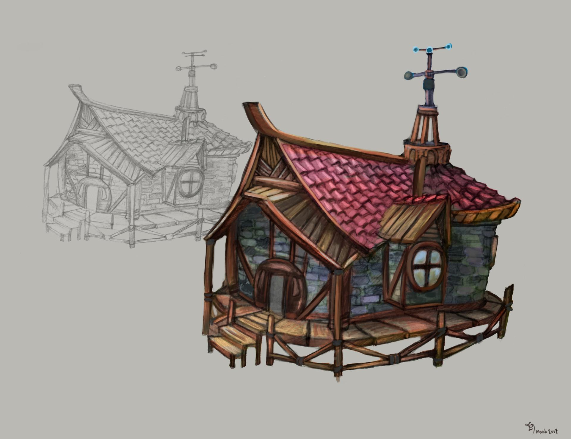 Hut concept. The
