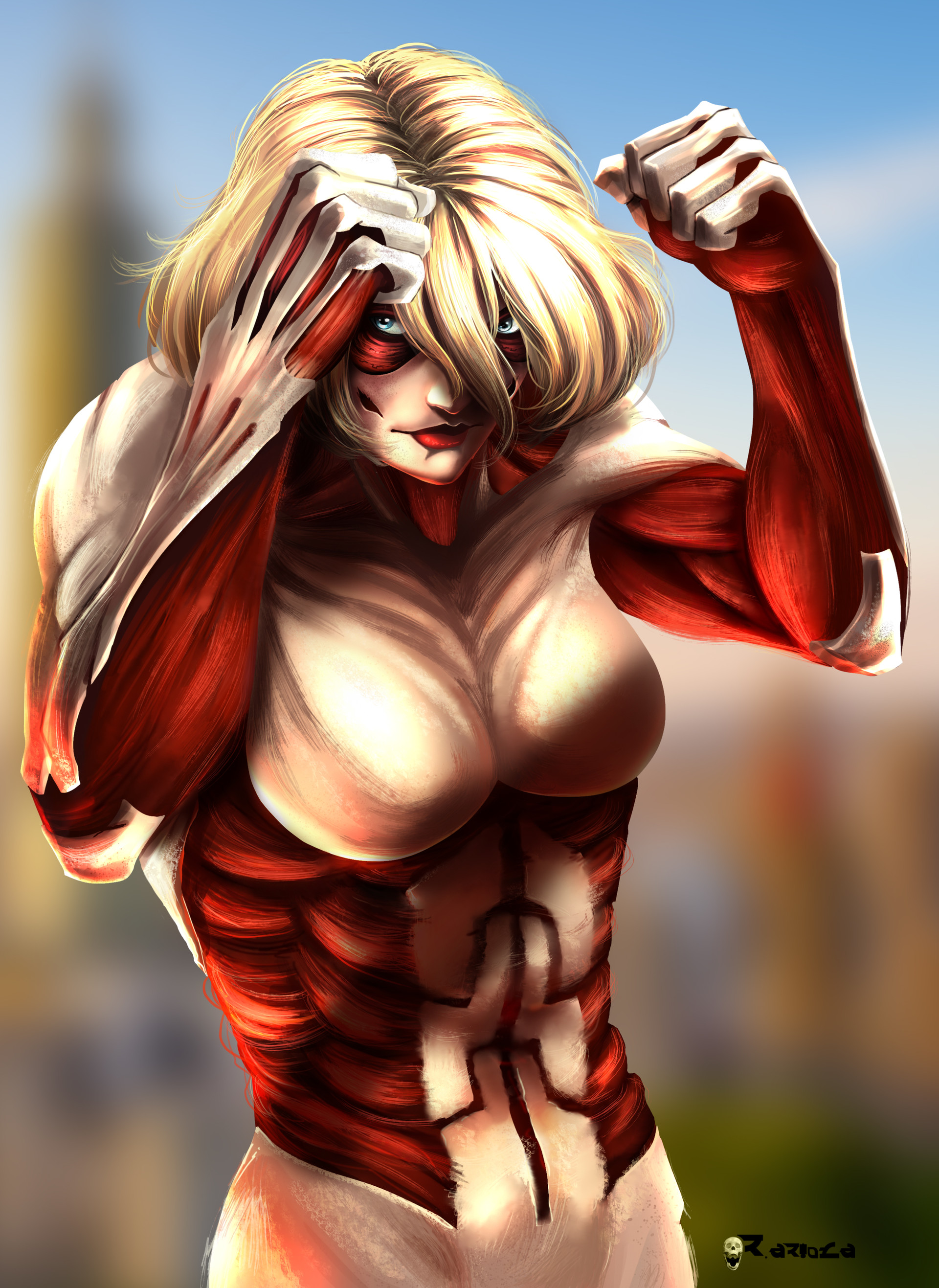 Image result for female titan