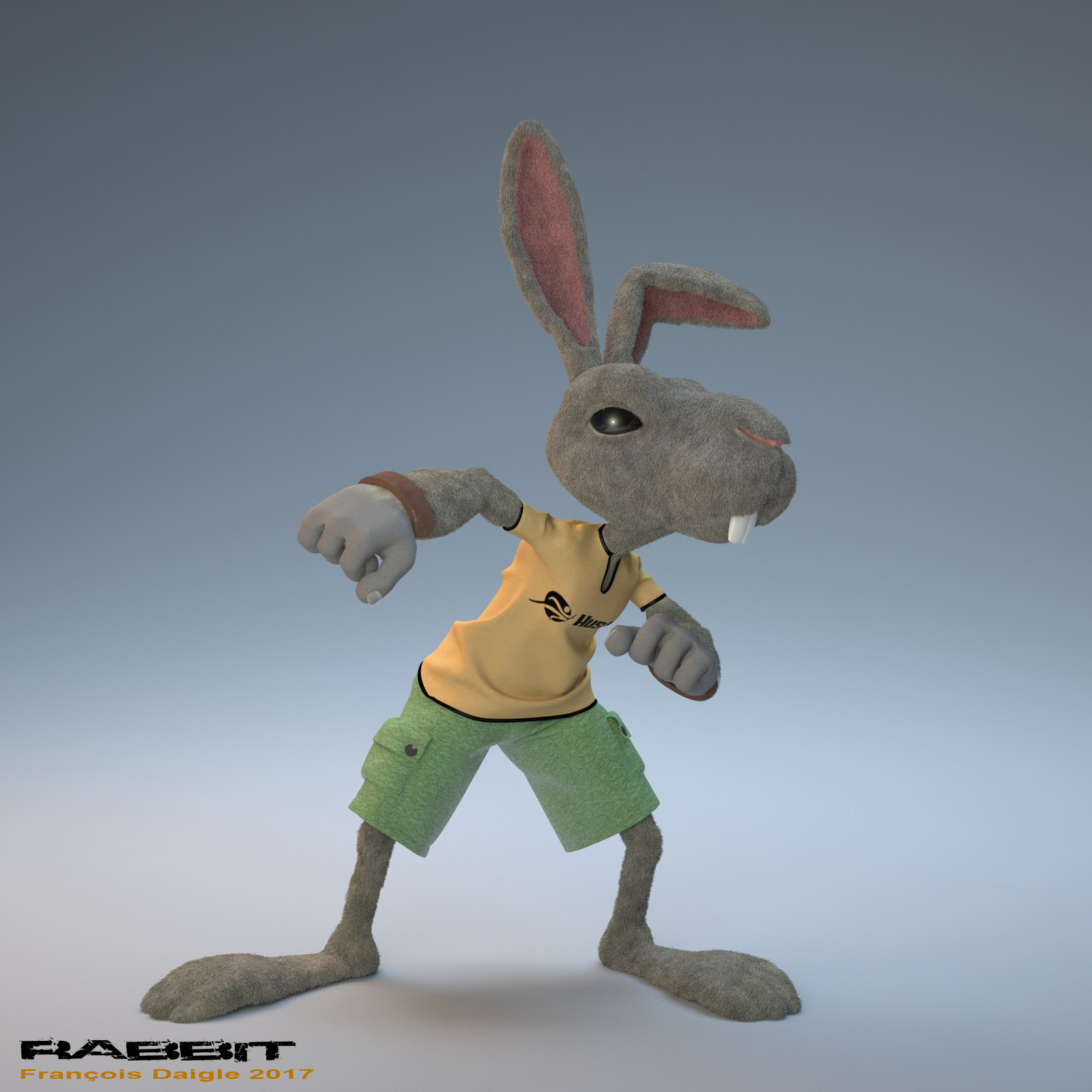 Rabbit updated with fur