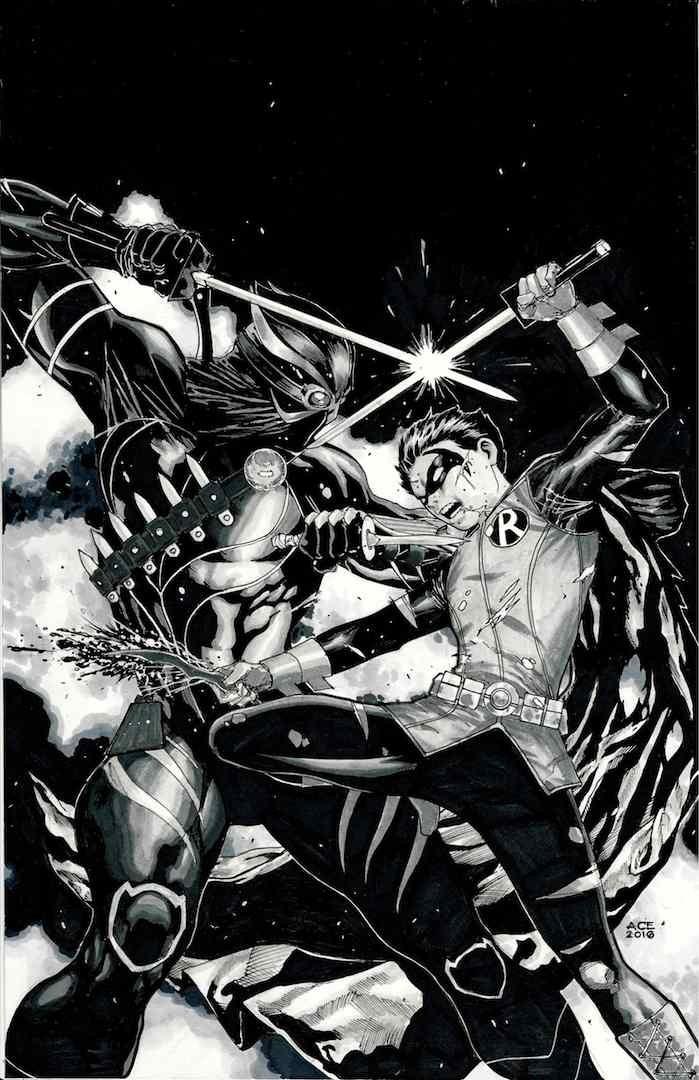 DC's Damien vs Talon