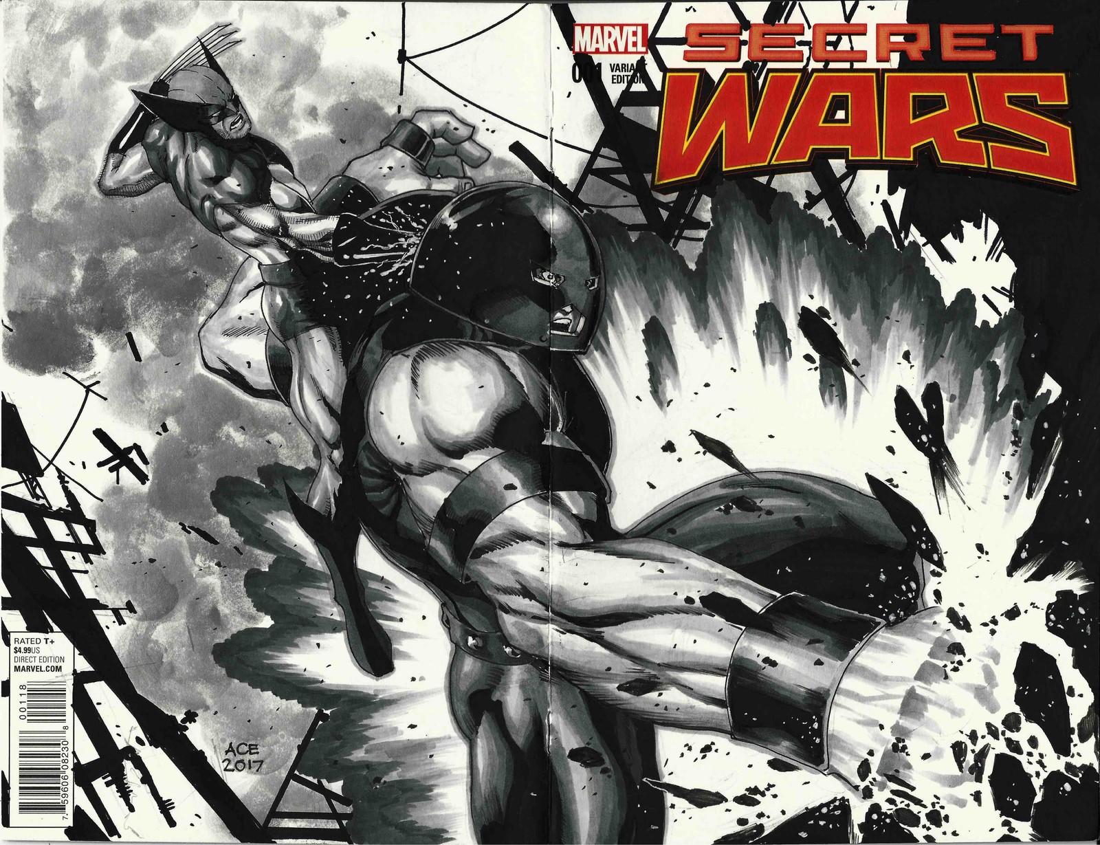 Juggernaut vs Wolverine