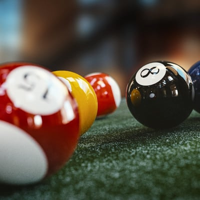 Ravissen carpenen billard balls render alpha