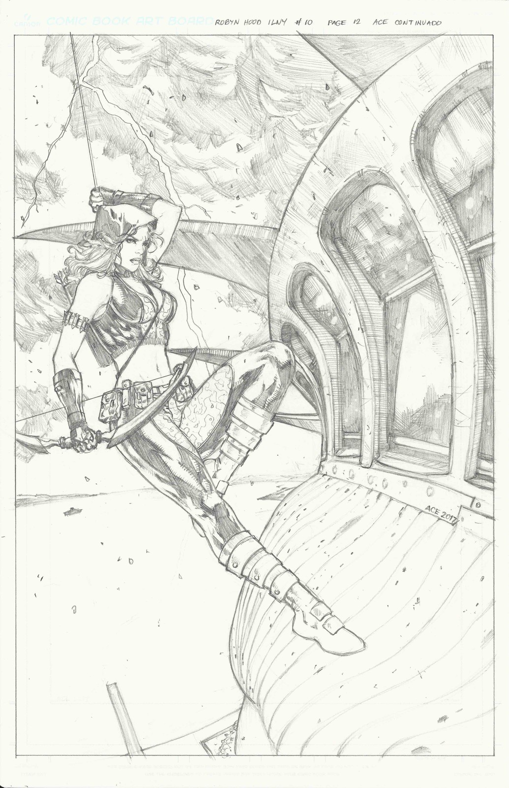 Page 12 of Robyn Hood I Love New York from Zenescope Entertainment.