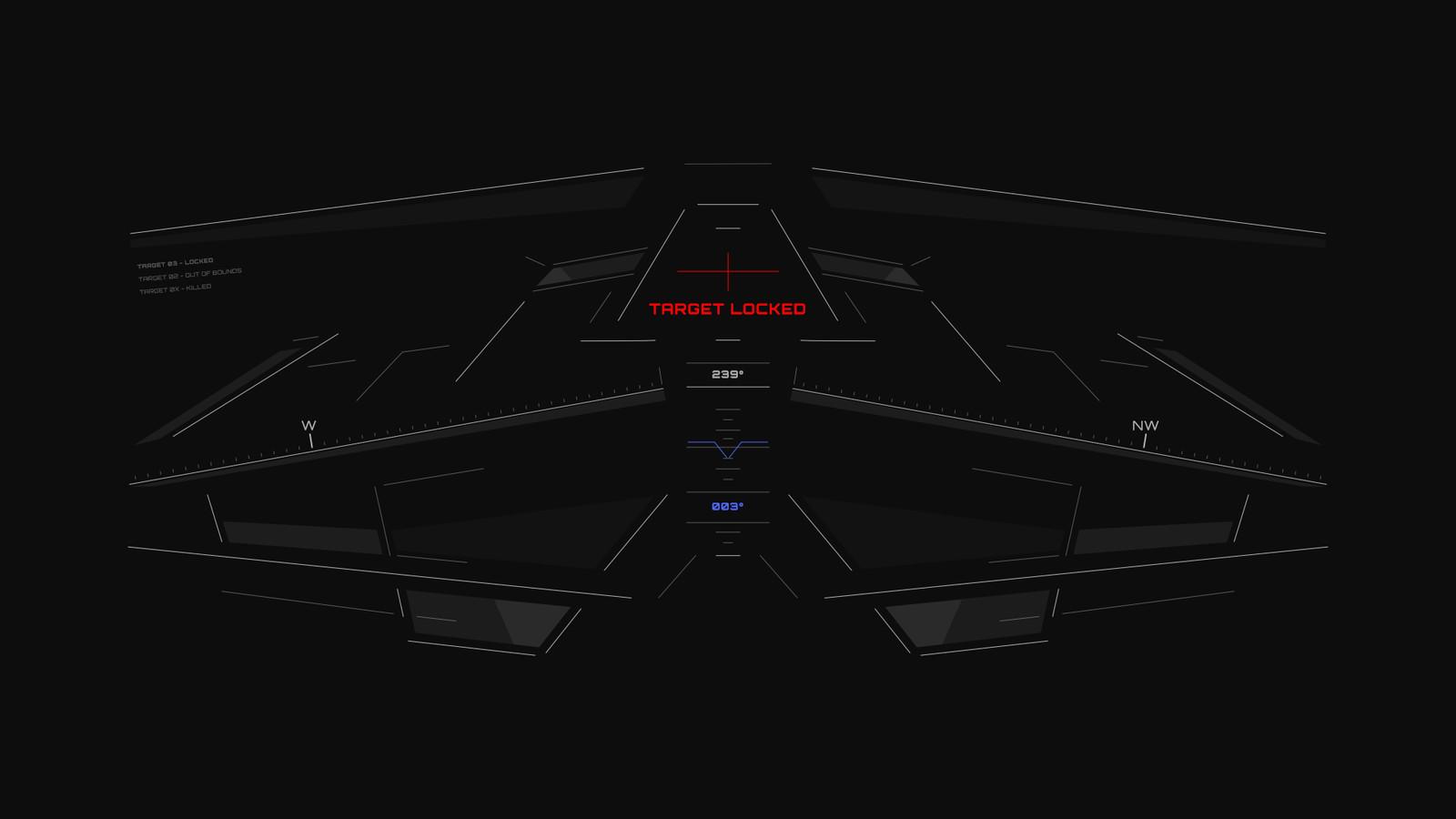 Cockpit HUD / FUI