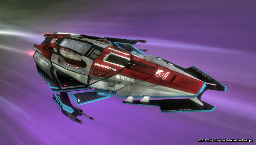 Dean ashley wipeout 2048 ag fighter 1