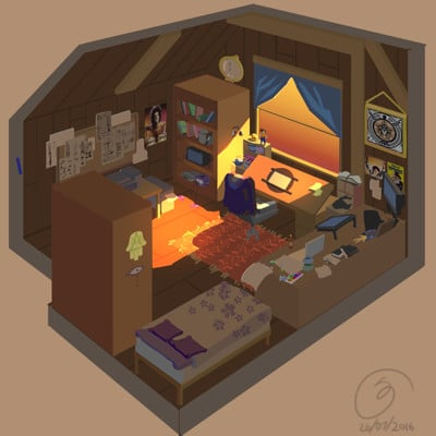Sandra grunberg room4