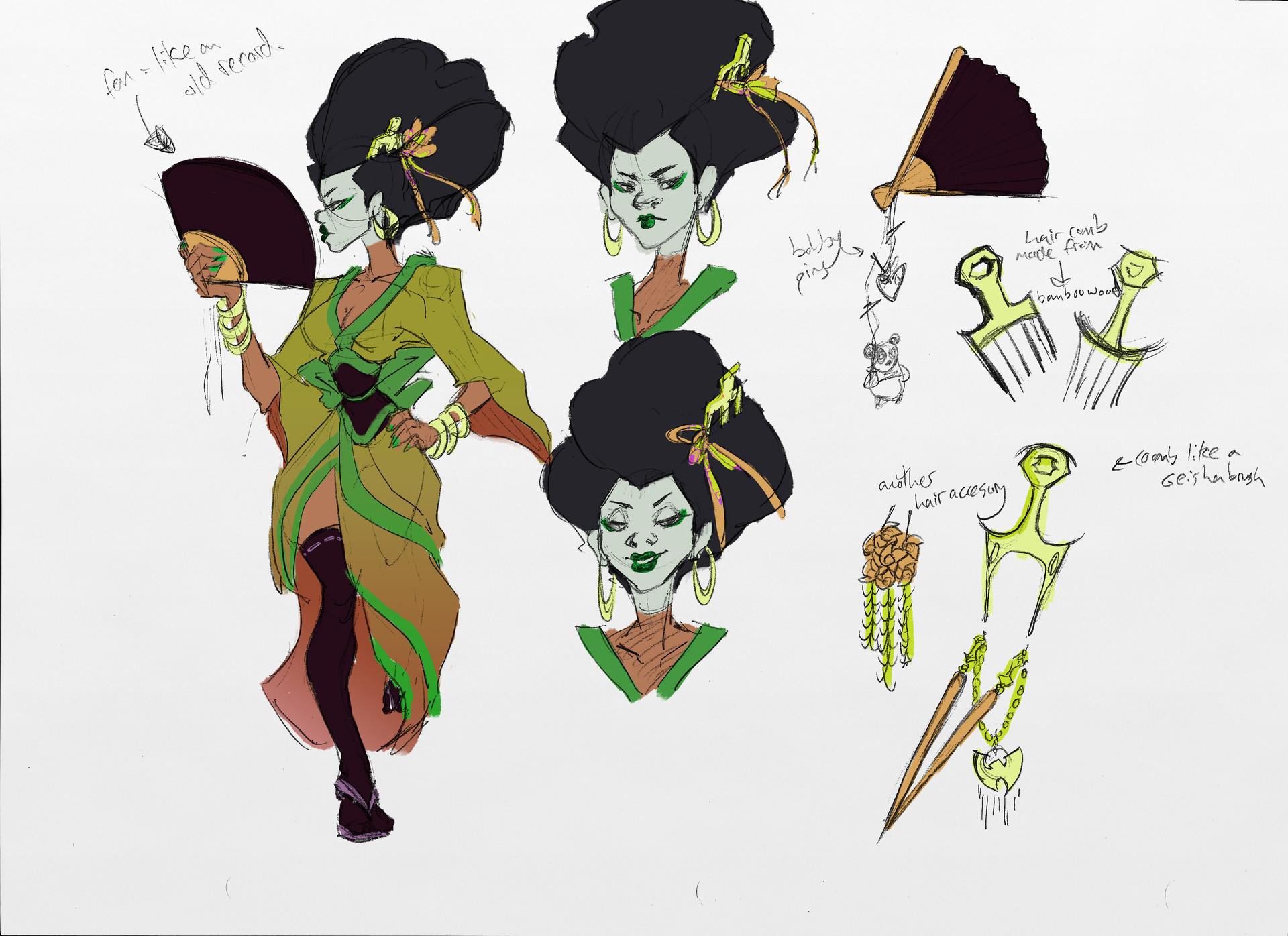 Sandra grunberg geisha girlg