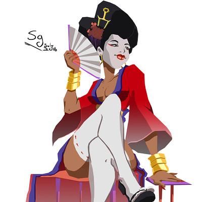 Sandra grunberg geisha
