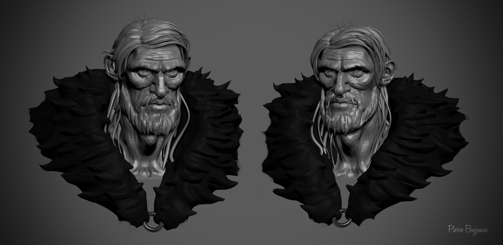 Speed sculpt 3 hours in ZBrush