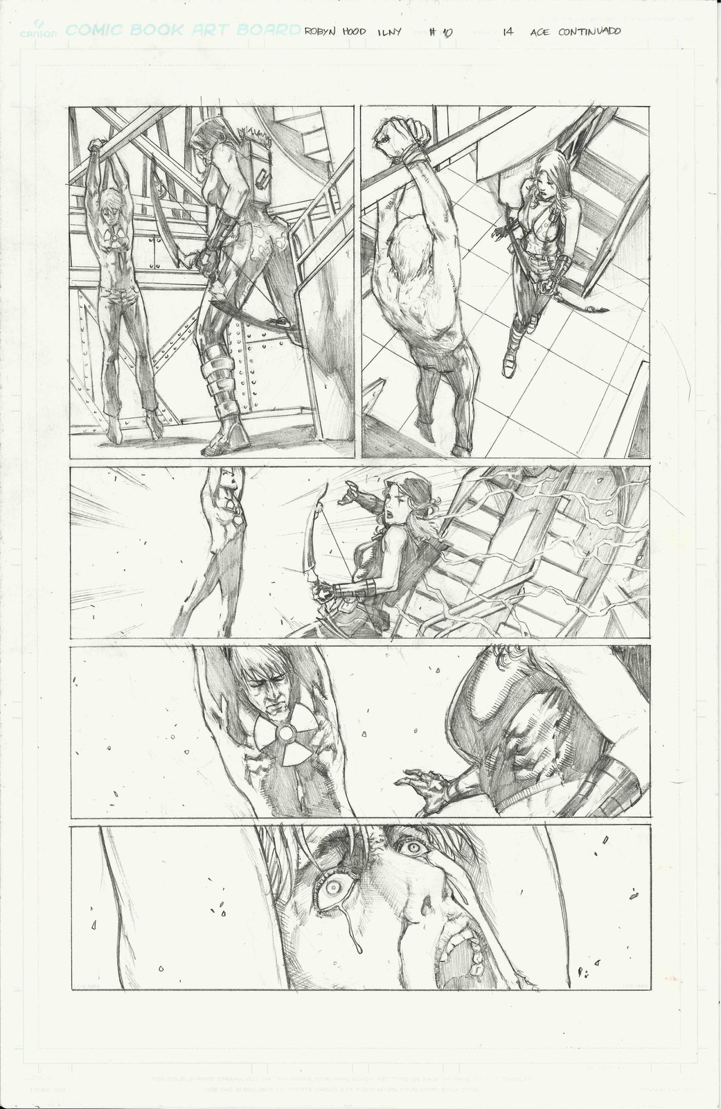 Page 14 of Robyn Hood I Love New York #10 from Zenescope Entertainment.