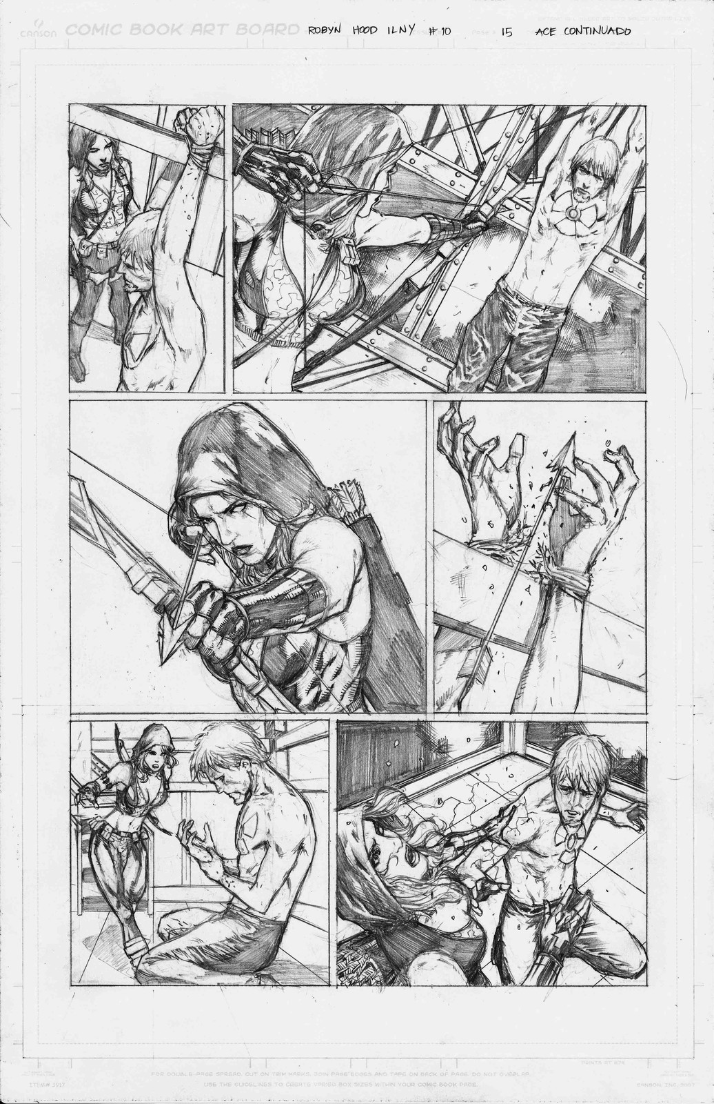 Page 15 of Robyn Hood I Love New York #10 from Zenescope Entertainment.