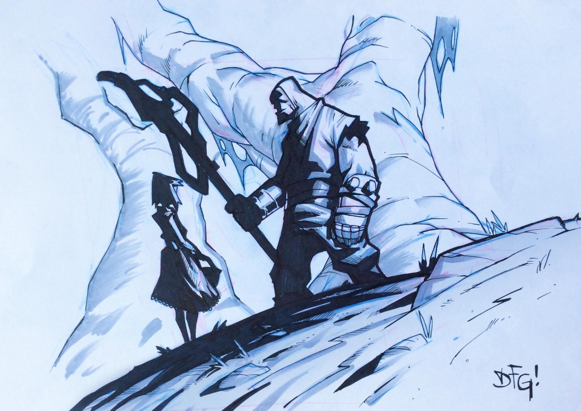 Damian fernandez gomez sketch pencil2