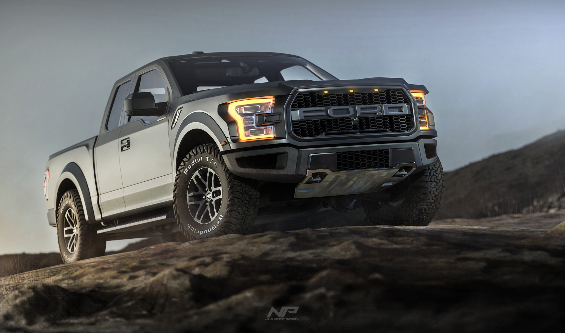artstation ford f150 raptor nils piirma. Black Bedroom Furniture Sets. Home Design Ideas