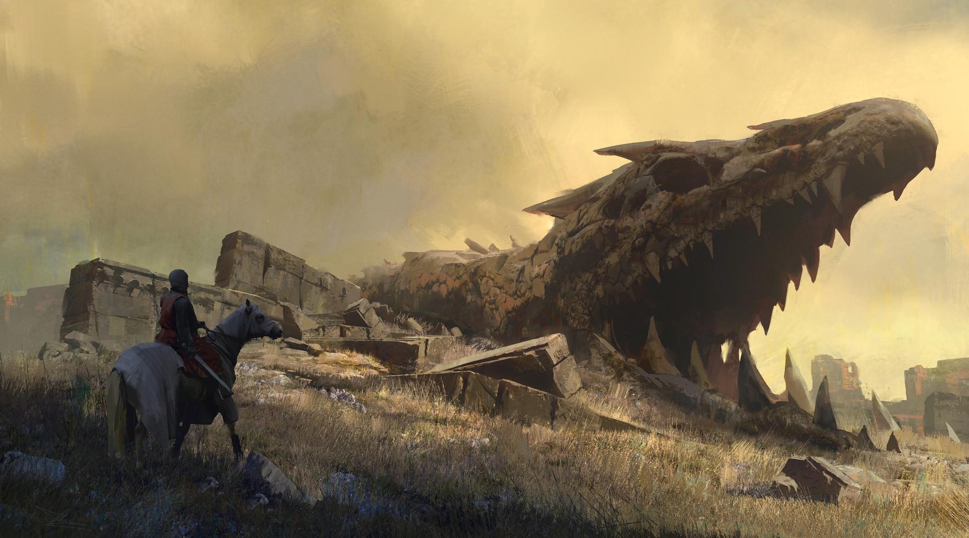 Pablo dominguez 2017 dragon ruin w