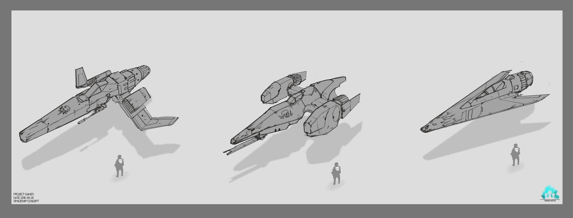 Robin tran spaceshooter spaceship01