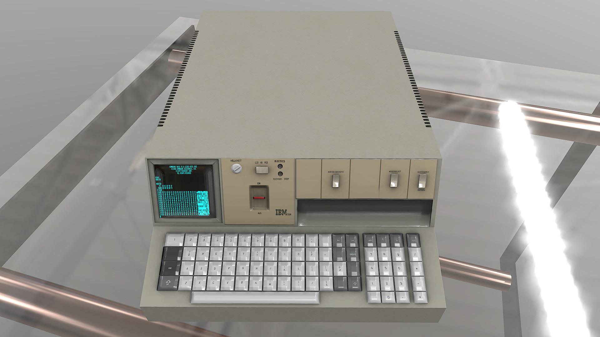 ArtStation - IBM 5100, Stefano Bertolin