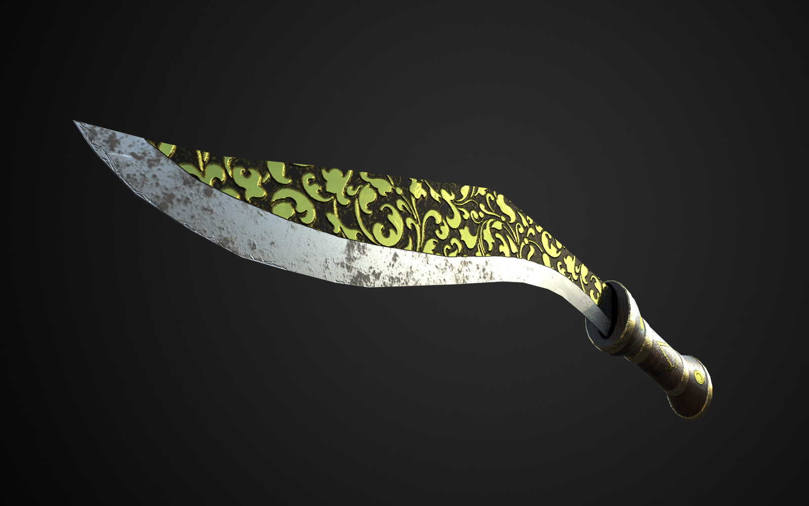 Artstation Royal Kukri Felipe Barrera