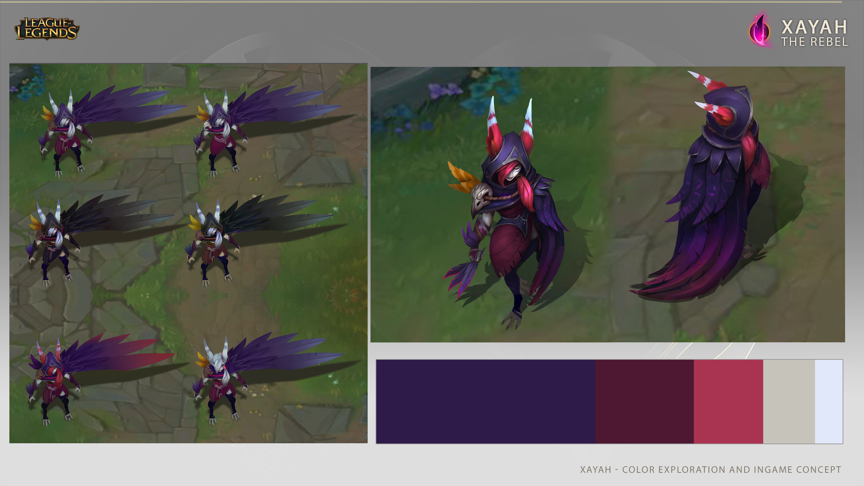 Ingame concept and some color variations