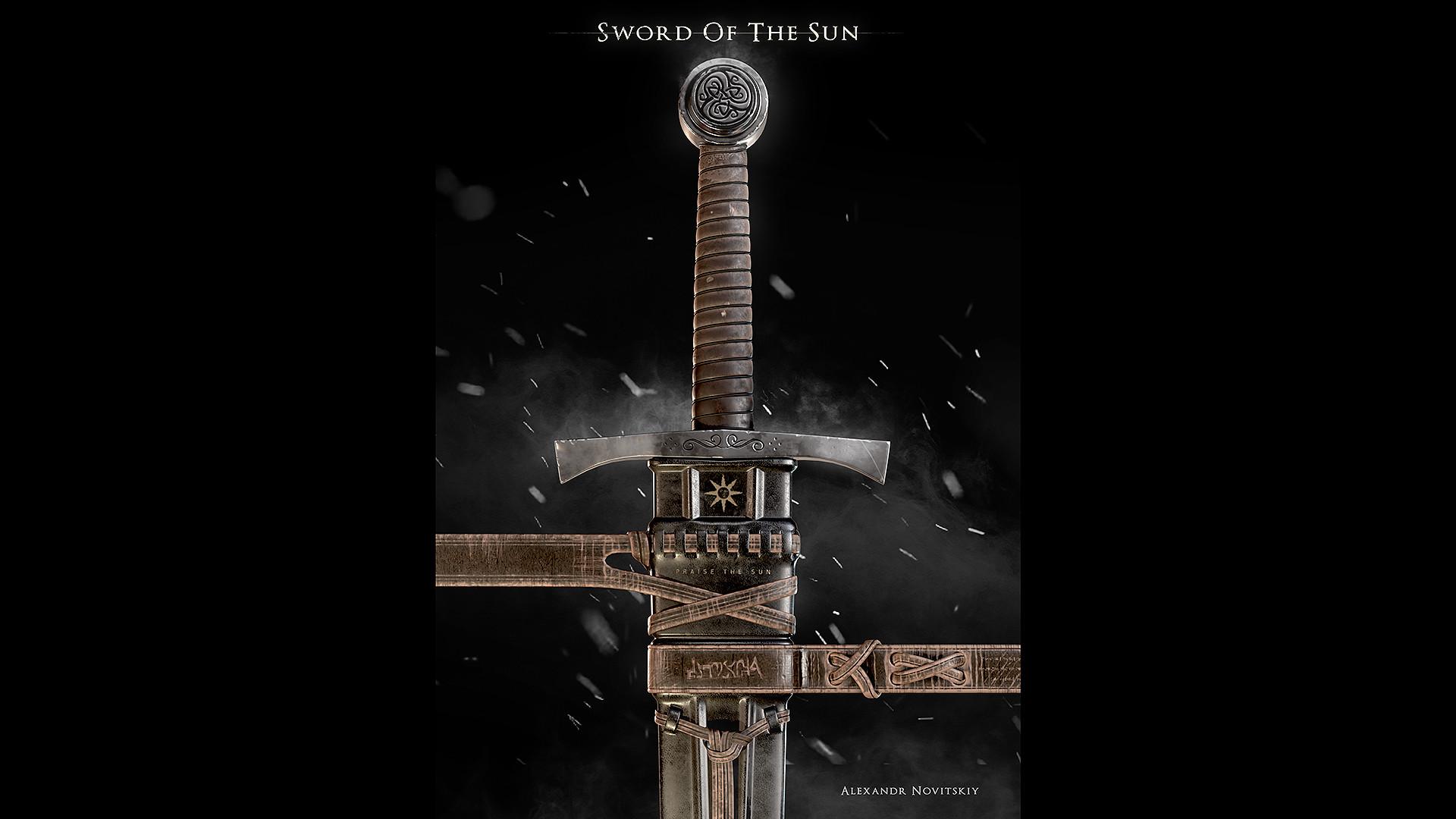 Alexandr novitskiy dark knight sword 02