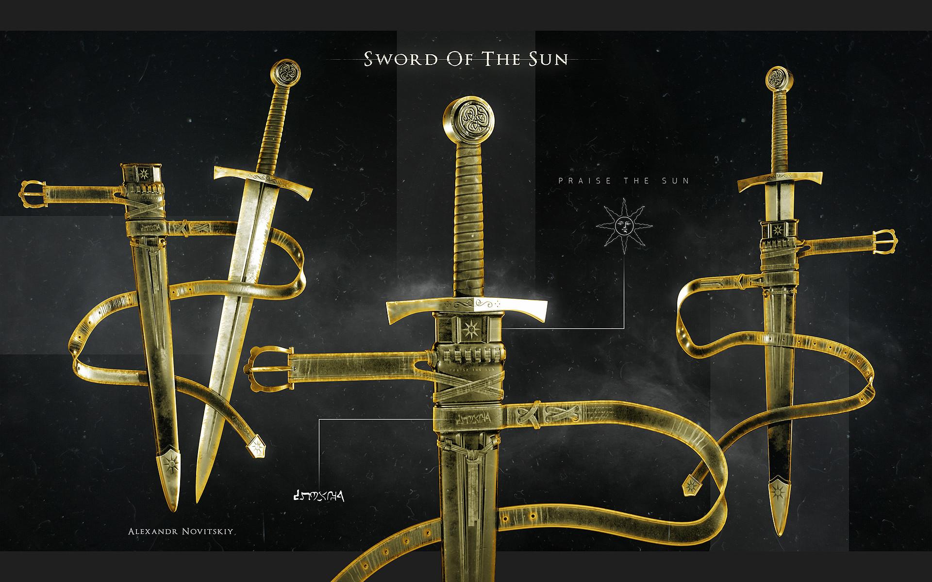 Alexandr novitskiy dark knight sword style 01