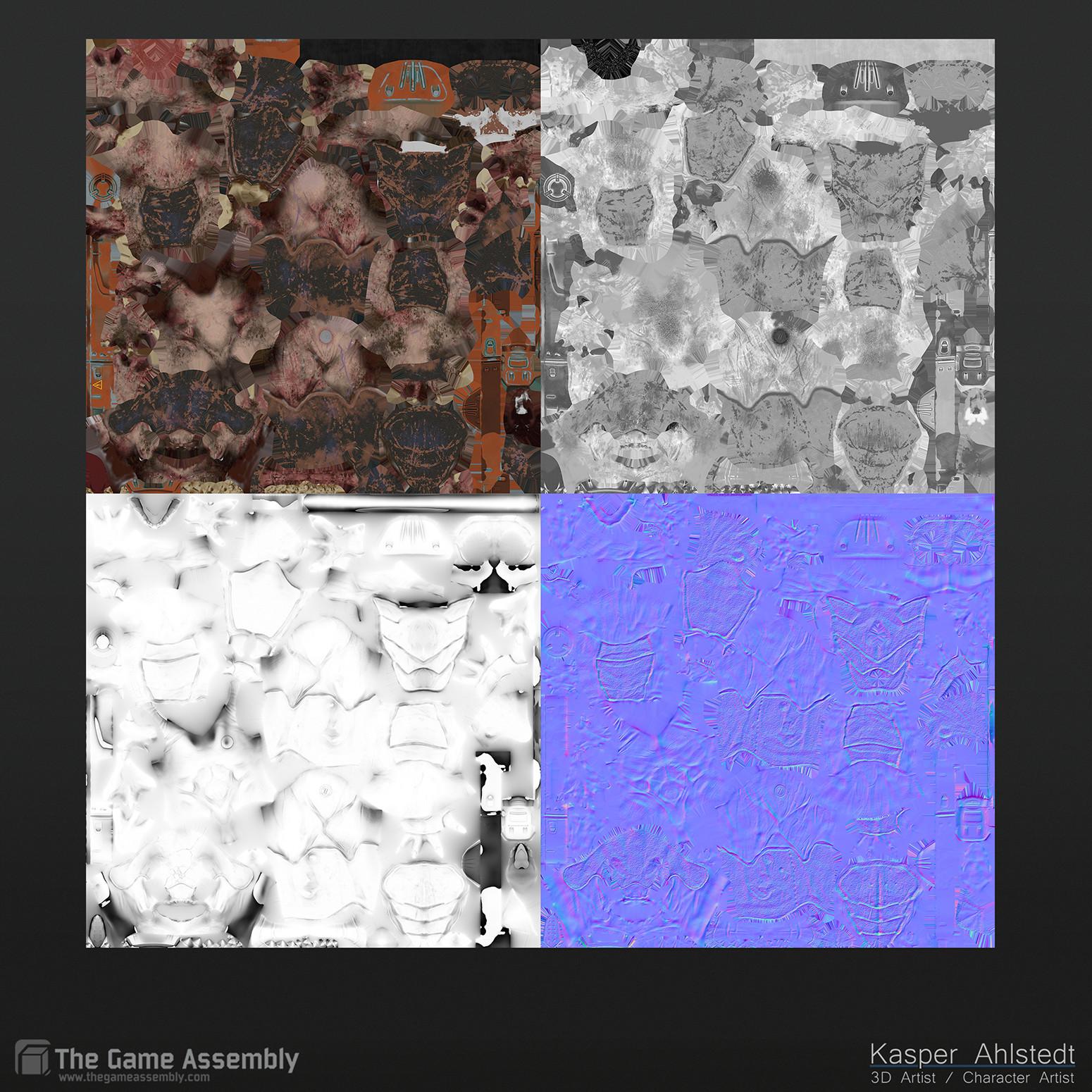 Kasper ahlstedt textures