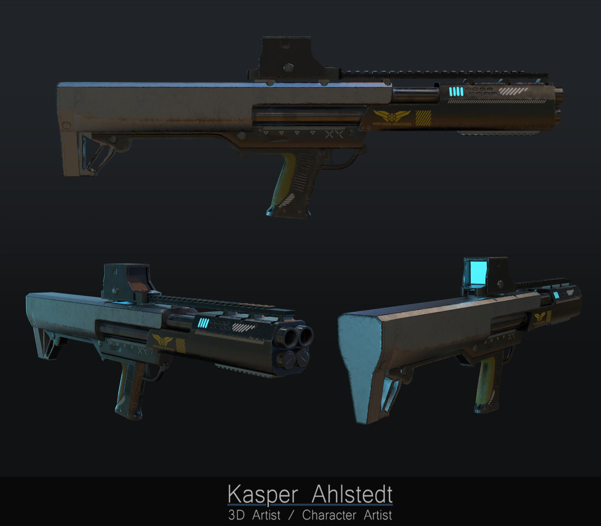 Kasper ahlstedt g7 shotgun