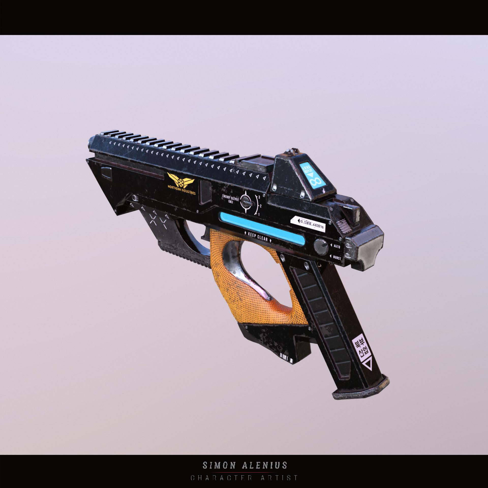 Simon alenius pistol 01