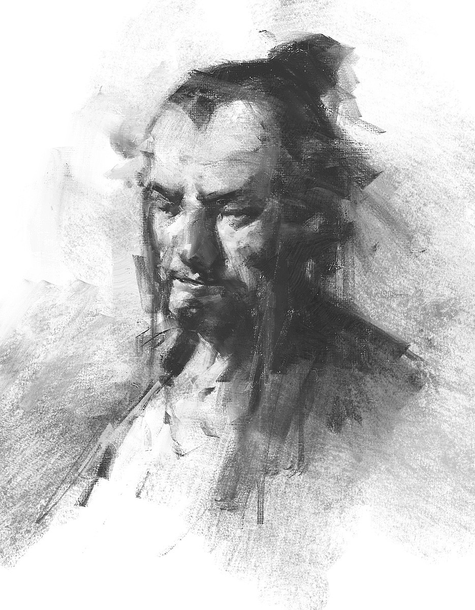 Greg rutkowski male portrait 1200