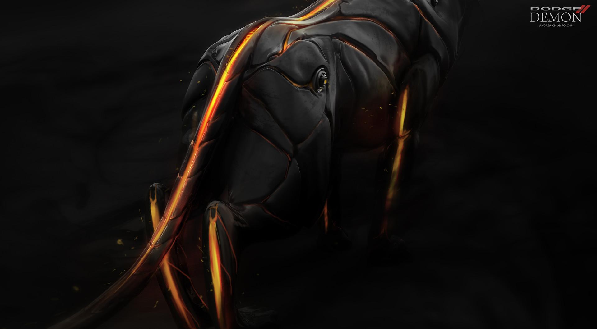 Andrea chiampo concept close up tail a