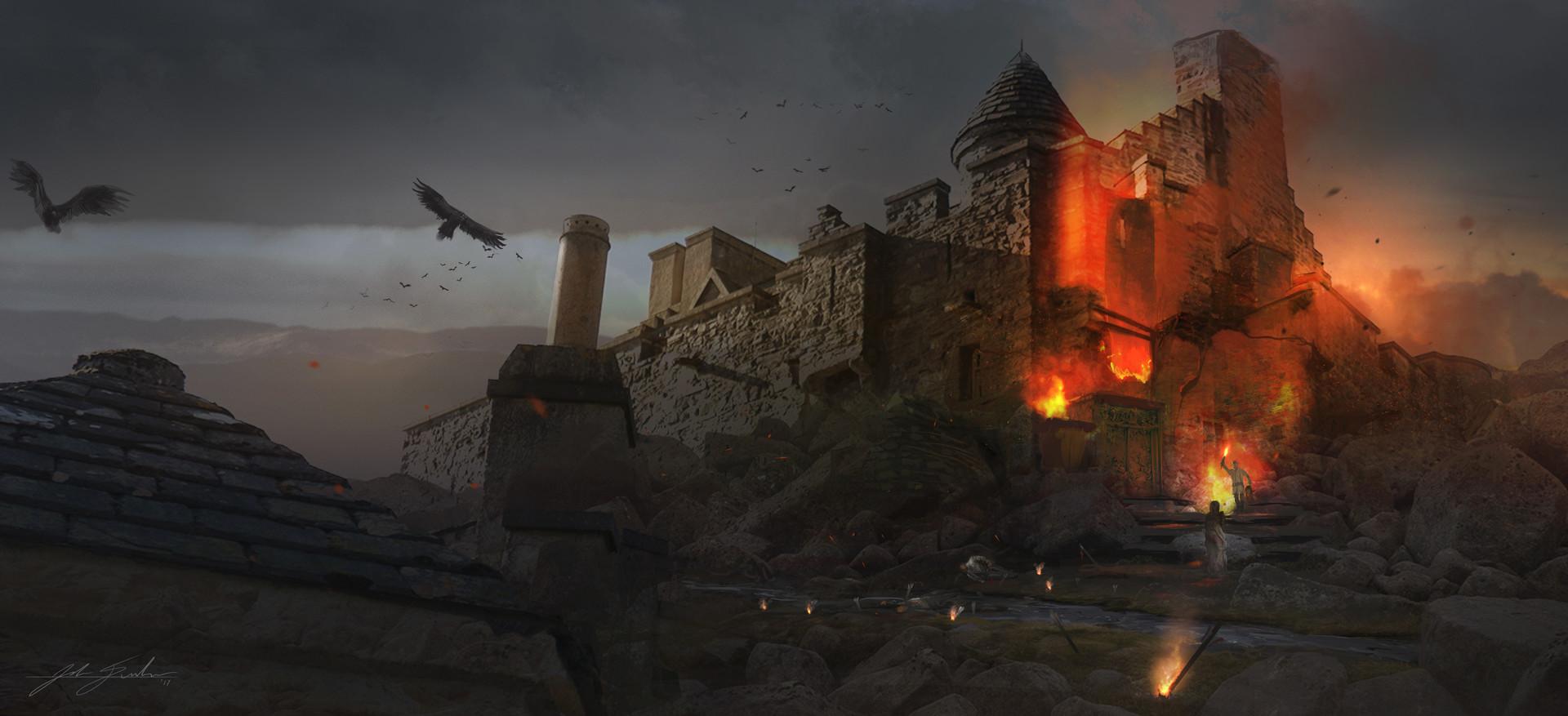 Josh durham castle under siege signed