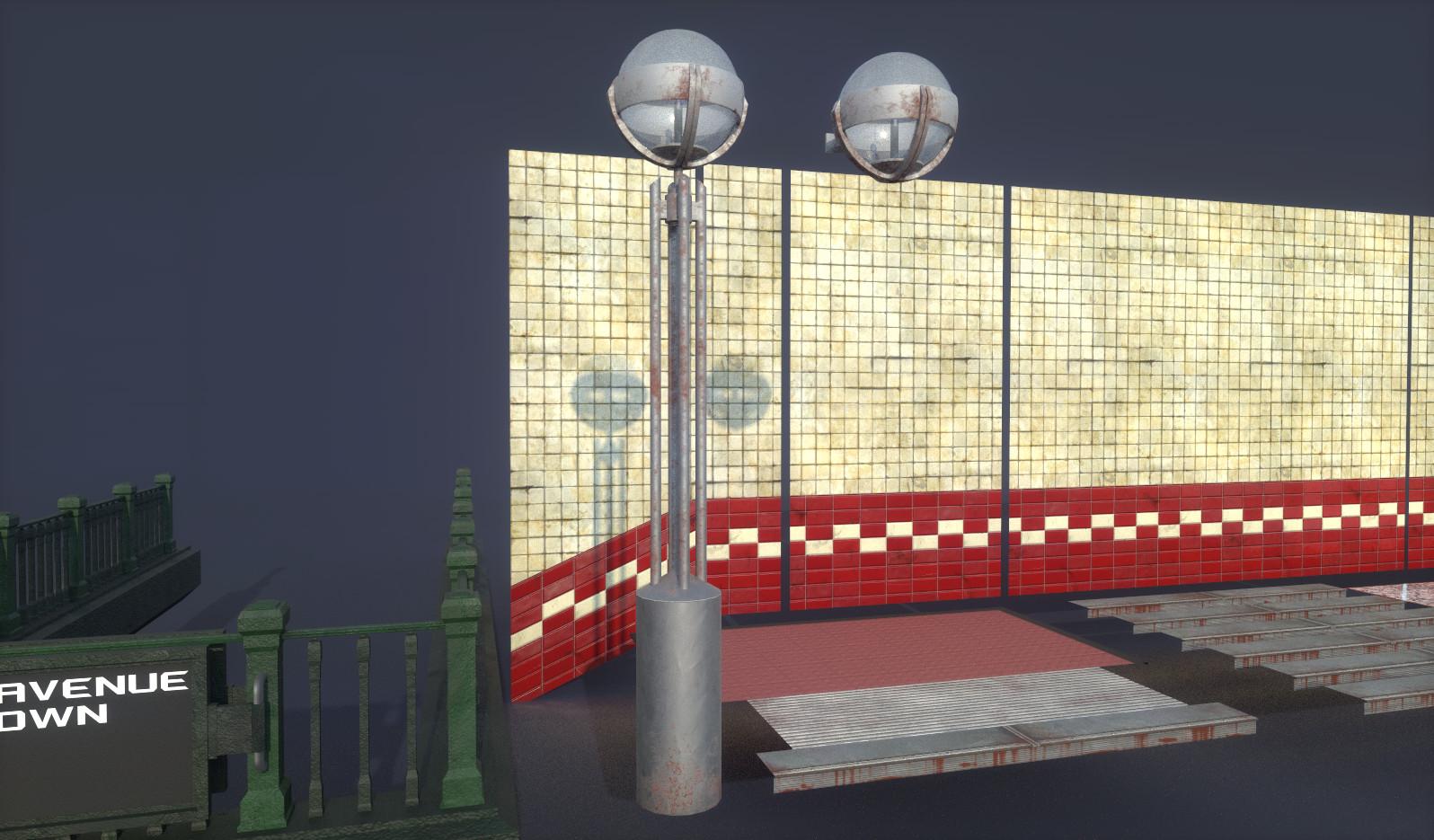 Street Lamp & Wall Lamp