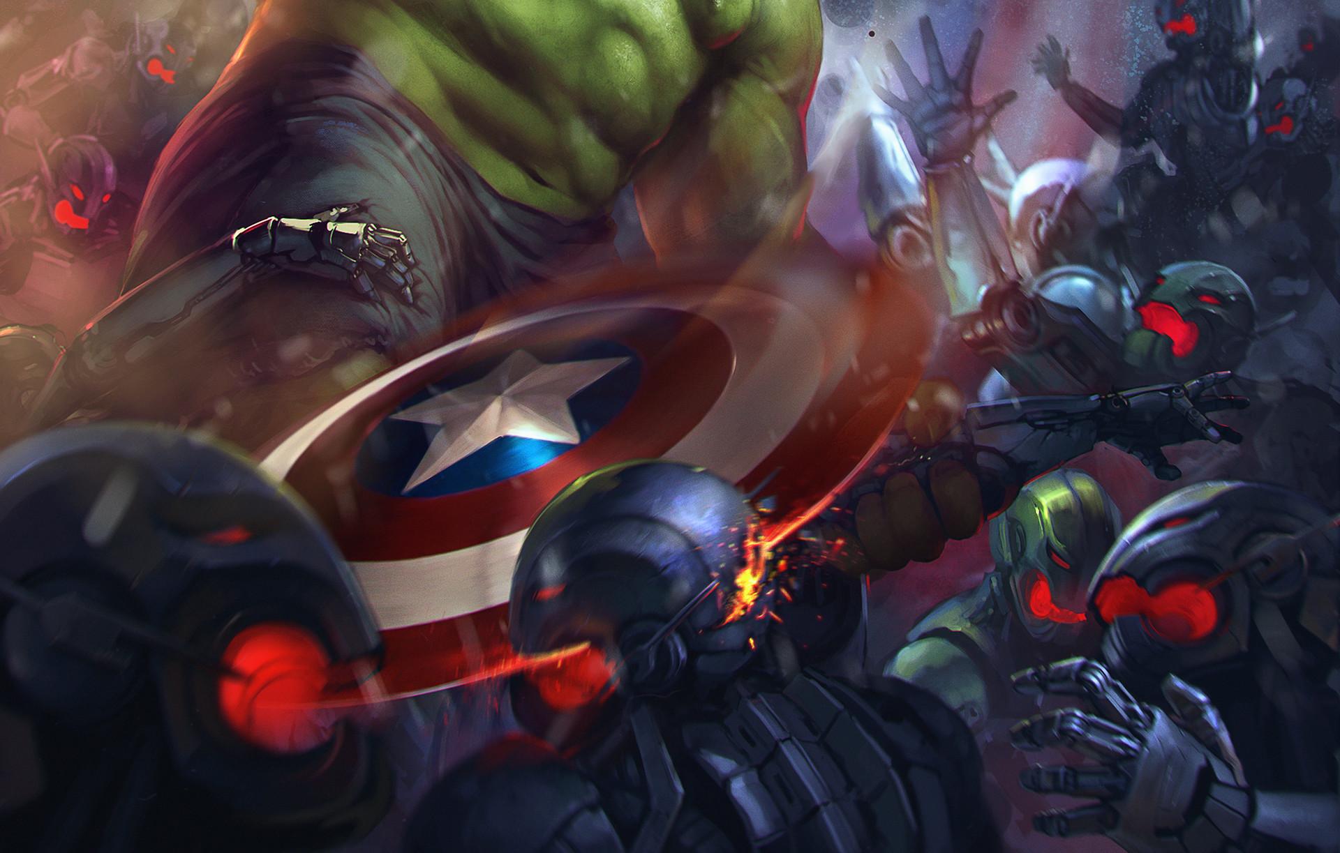 Denys tsiperko hulk captain america evo 2 1