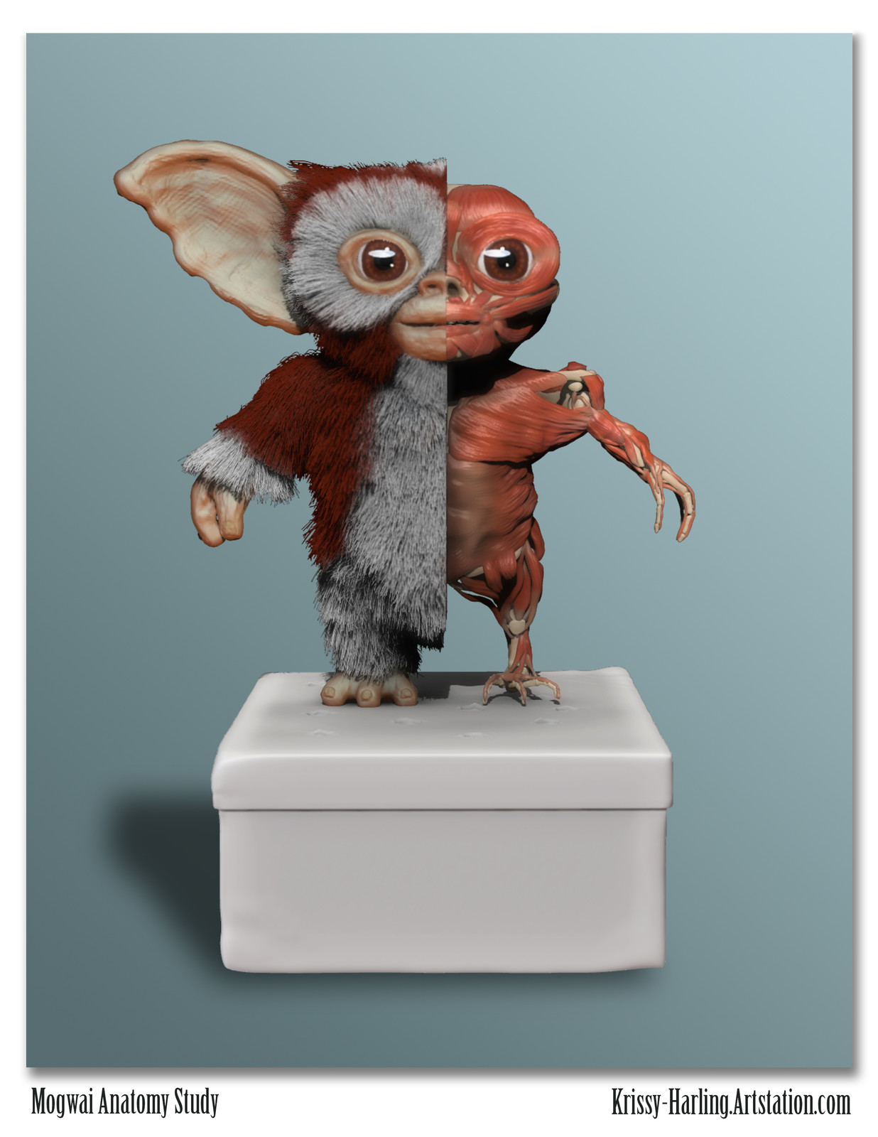 Mogwai Creature Sculpt