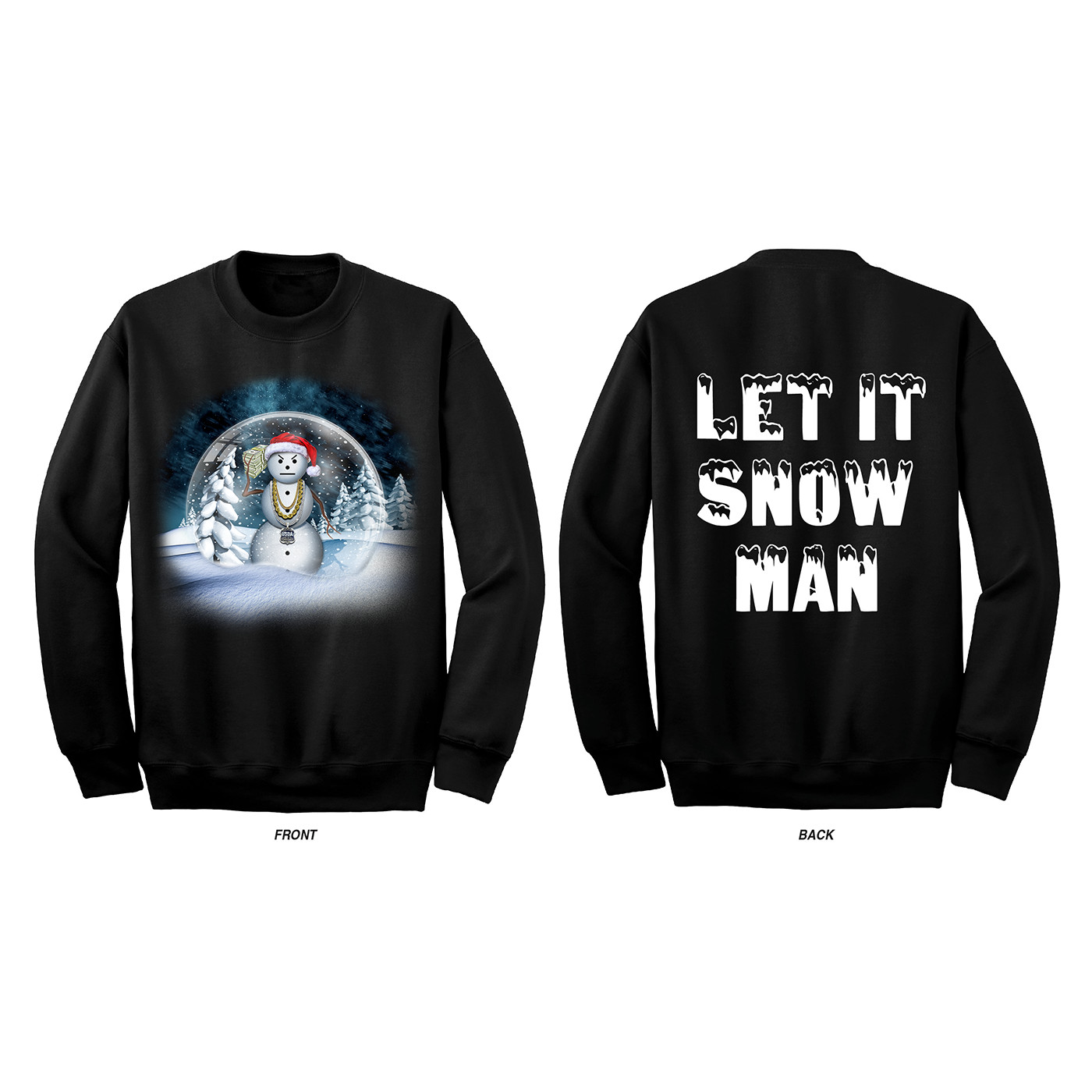 Roger kenerly ii jeezy christmas snow globe sweatshirt artstation