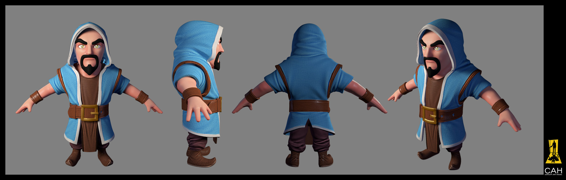 Artstation 3d models for clash of clans super bowl commercial wizard view publicscrutiny Image collections
