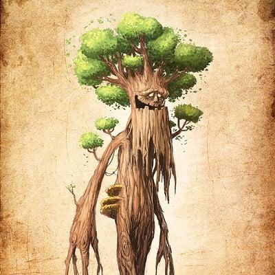 Tomek larek tree monster tomek larek