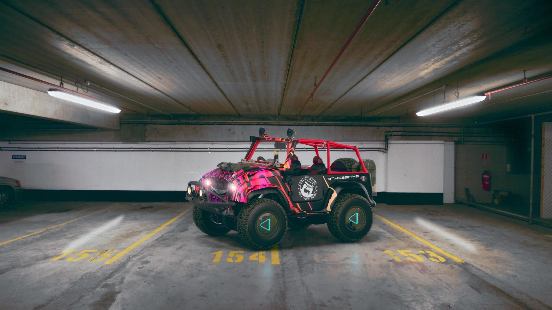 Krishna das jeep modified 10low