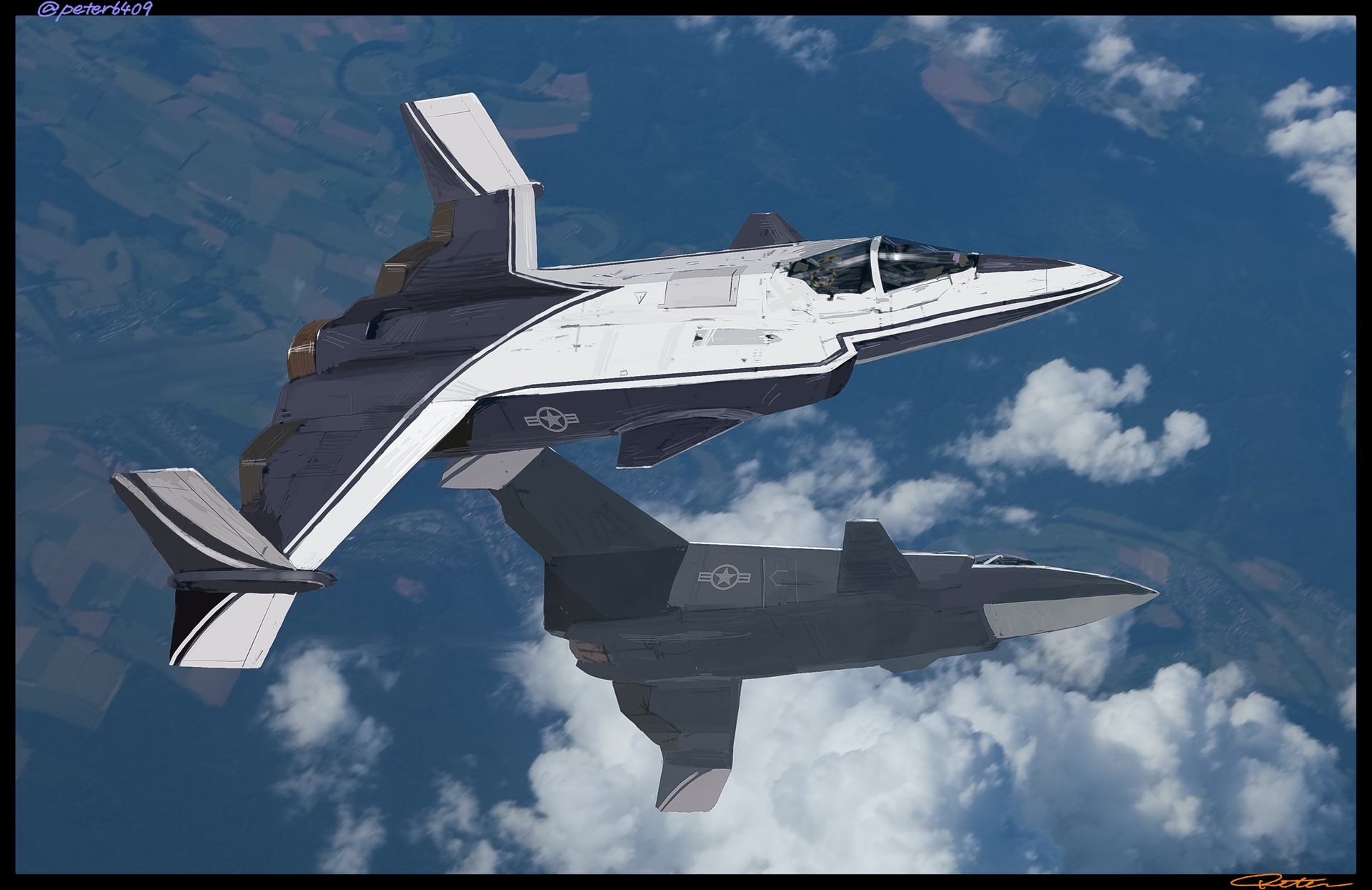 stealthy XFV-12